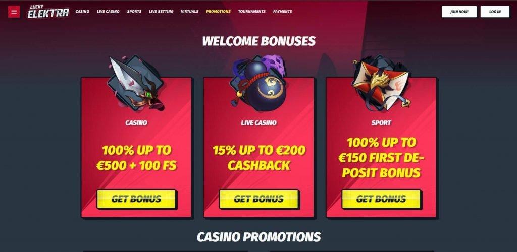 Lucky Elektra Casino arvostelu – Kaikki mistä voisit ikinä unelmoida